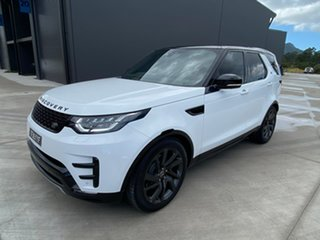 2017 Land Rover Discovery Series 5 L462 MY17 First Edition White 8 Speed Sports Automatic Wagon.