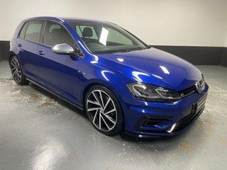 2018 Volkswagen Golf 7.5 MY18 R DSG 4MOTION Lapiz Blue 7 Speed Sports Automatic Dual Clutch.