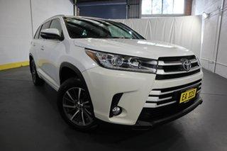 2017 Toyota Kluger GSU50R GXL (4x2) White 6 Speed Automatic Wagon.