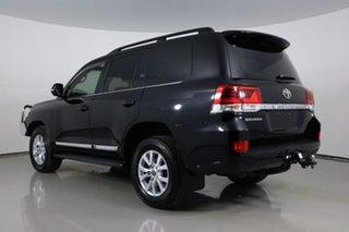 2019 Toyota Landcruiser VDJ200R LC200 Sahara (4x4) Black 6 Speed Automatic Wagon