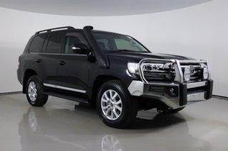 2019 Toyota Landcruiser VDJ200R LC200 Sahara (4x4) Black 6 Speed Automatic Wagon.