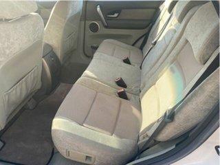 2005 Ford Territory SX TS (RWD) White 4 Speed Auto Seq Sportshift Wagon