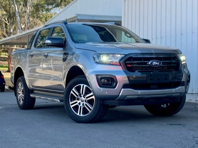 Used Ford Ranger PX MkIII 2020.75MY Wildtrak Clare, 2020 Ford Ranger PX MkIII 2020.75MY Wildtrak Silver 10 Speed Sports Automatic Double Cab Pick Up