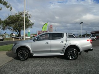 2016 Mitsubishi Triton MQ MY17 Exceed Double Cab Silver 5 Speed Sports Automatic Utility.