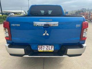 2019 Mitsubishi Triton MR MY20 GLS Double Cab Blue/041219 6 Speed Sports Automatic Utility