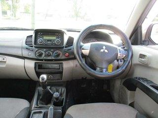 2009 Mitsubishi Triton MN MY10 GL-R Double Cab Grey 5 Speed Manual Utility
