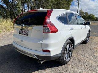 2016 Honda CR-V 30 Series 2 MY17 VTi-L (4x4) Glacier White 5 Speed Automatic Wagon.