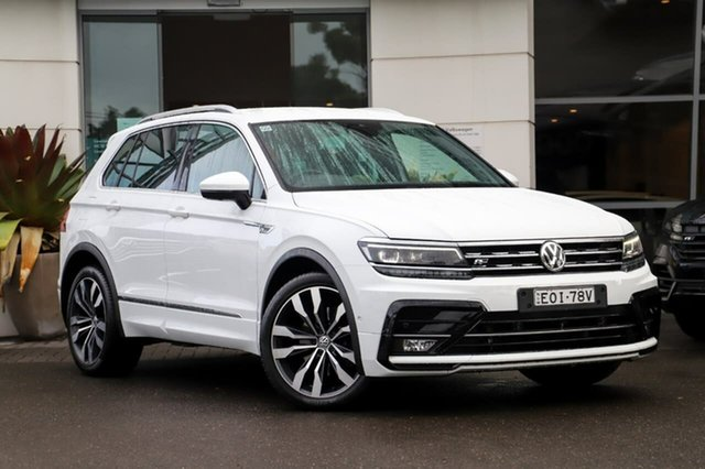 Used Volkswagen Tiguan 5N MY18 162TSI DSG 4MOTION Highline Sutherland, 2018 Volkswagen Tiguan 5N MY18 162TSI DSG 4MOTION Highline White 7 Speed