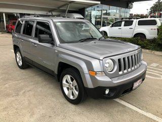 2014 Jeep Patriot MK MY15 Limited Silver 6 Speed Sports Automatic Wagon.