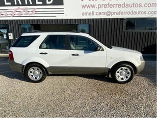 2005 Ford Territory SX TS (RWD) White 4 Speed Auto Seq Sportshift Wagon.