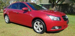 2009 Holden Cruze JG CD Red 5 Speed Manual Sedan.