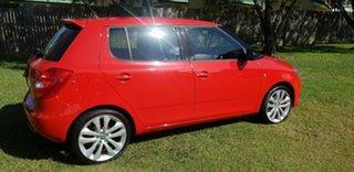 2012 Skoda Fabia 5JF MY13 RS DSG 132TSI Red 7 Speed Sports Automatic Dual Clutch Hatchback