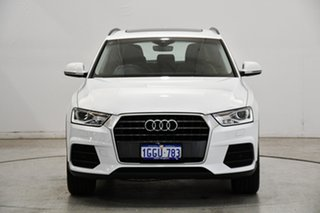 2017 Audi Q3 8U MY17 TFSI S Tronic White 6 Speed Sports Automatic Dual Clutch Wagon.