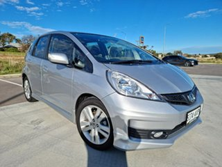 2013 Honda Jazz GE MY13 Vibe-S Silver 5 Speed Automatic Hatchback.