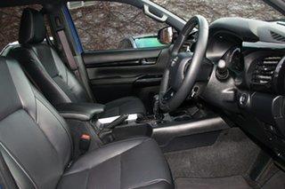 2020 Toyota Hilux GUN126R Rogue Double Cab Nebula Blue 6 Speed Sports Automatic Utility