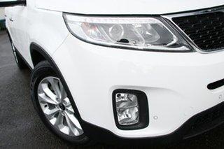 2014 Kia Sorento XM MY14 SLi White 6 Speed Sports Automatic Wagon.
