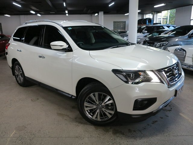 Used Nissan Pathfinder R52 Series III MY19 ST X-tronic 2WD Albion, 2019 Nissan Pathfinder R52 Series III MY19 ST X-tronic 2WD White 1 Speed Constant Variable Wagon