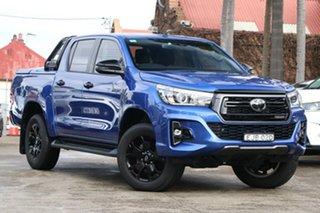 2020 Toyota Hilux GUN126R Rogue Double Cab Nebula Blue 6 Speed Sports Automatic Utility.