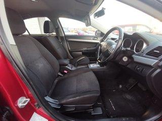 2011 Mitsubishi Lancer CJ MY11 SX Burgundy 6 Speed Constant Variable Sedan.
