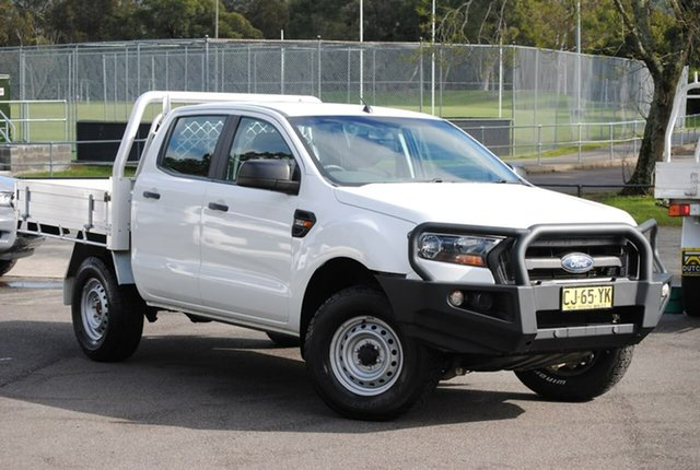 Used Ford Ranger PX MkII XL West Gosford, 2016 Ford Ranger PX MkII XL White 6 Speed Manual Utility