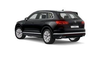2021 Volkswagen Touareg CR MY21 210TDI Tiptronic 4MOTION Elegance Black 8 Speed Sports Automatic.