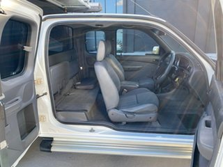 2003 Ford Courier PG XL Super Cab White 5 Speed Manual Cab Chassis