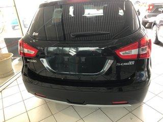 2021 Suzuki S-Cross JY Turbo Prestige Cosmic Black 6 Speed Sports Automatic Hatchback.