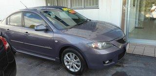 2007 Mazda 3 BK10F2 MZR-CD Grey 6 Speed Manual Sedan.