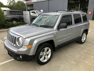 2014 Jeep Patriot MK MY15 Limited Silver 6 Speed Sports Automatic Wagon