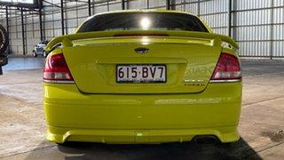 2003 Ford Falcon BA XR6 Turbo Green 4 Speed Sports Automatic Sedan