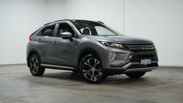 Used Mitsubishi Eclipse Cross YA MY19 Exceed 2WD Welshpool, 2018 Mitsubishi Eclipse Cross YA MY19 Exceed 2WD Grey 8 Speed Constant Variable Wagon