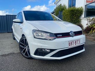 2017 Volkswagen Polo 6R MY17 GTI DSG White 7 Speed Sports Automatic Dual Clutch Hatchback.