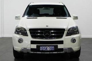2011 Mercedes-Benz M-Class W164 MY10 ML350 AMG Sports White 7 Speed Sports Automatic Wagon.