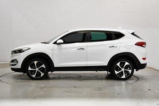 2016 Hyundai Tucson TLe MY17 Elite AWD Pure White 6 Speed Sports Automatic Wagon.