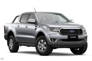 2021 Ford Ranger PX MkIII 2021.25MY XLT Silver 10 Speed Sports Automatic Double Cab Pick Up