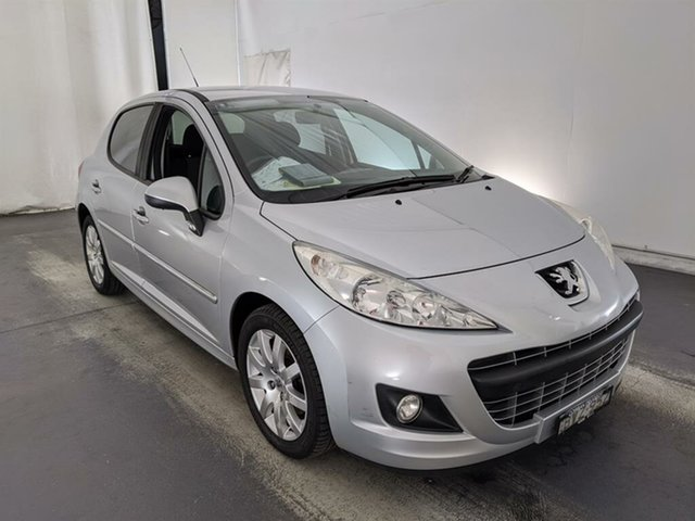 Used Peugeot 207 A7 Series II MY10 Sportium Maryville, 2011 Peugeot 207 A7 Series II MY10 Sportium Grey 4 Speed Sports Automatic Hatchback