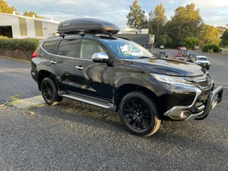 2019 Mitsubishi Pajero Sport QE MY19 Black Edition Black 8 Speed Sports Automatic Wagon.
