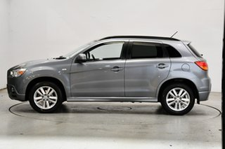 2012 Mitsubishi ASX XA MY12 Aspire Silver 6 Speed Constant Variable Wagon.