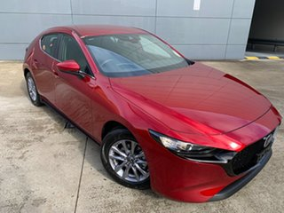 2021 Mazda 3 BP2H7A G20 SKYACTIV-Drive Pure Soul Red Crystal 6 Speed Sports Automatic Hatchback.
