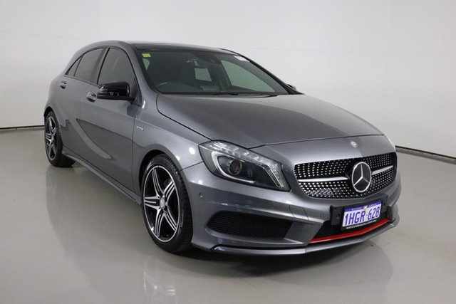 Used Mercedes-Benz A250 176 MY15 Sport Bentley, 2015 Mercedes-Benz A250 176 MY15 Sport Graphite 7 Speed Automatic Hatchback