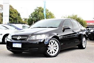 2009 Holden Commodore VE MY10 International Black 6 Speed Sports Automatic Sedan.