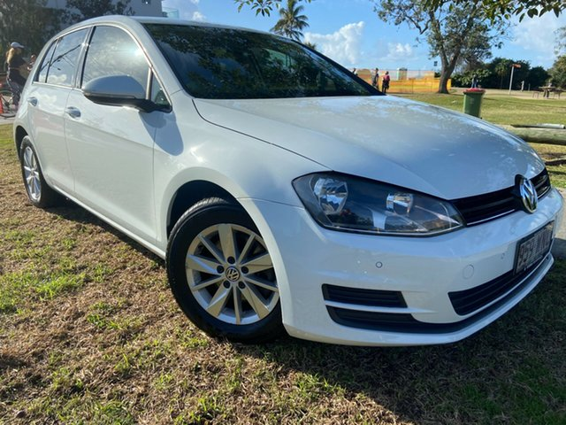 Used Volkswagen Golf VII MY16 92TSI DSG Comfortline Tugun, 2015 Volkswagen Golf VII MY16 92TSI DSG Comfortline White 7 Speed Sports Automatic Dual Clutch