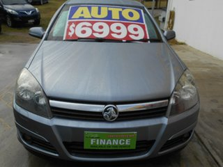 2005 Holden Astra AH MY05 CDXi Silver 4 Speed Automatic Hatchback.