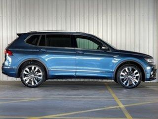 2021 Volkswagen Tiguan 5N MY21 162TSI Highline DSG 4MOTION Allspace Blue 7 Speed.