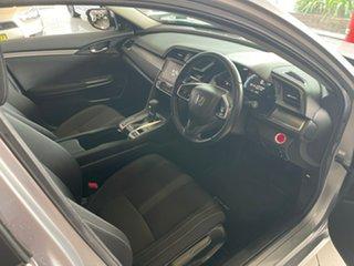 2018 Honda Civic 10th Gen MY18 VTi-L Silver 1 Speed Constant Variable Sedan