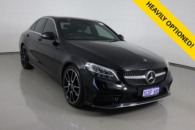 Used Mercedes-Benz C200 W205 MY20 Bentley, 2019 Mercedes-Benz C200 W205 MY20 Black 9 Speed Automatic G-Tronic Sedan