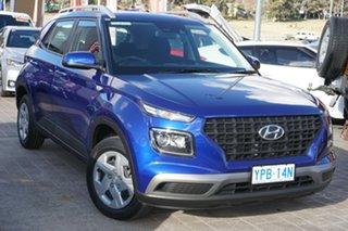 2020 Hyundai Venue QX MY20 Go Intense Blue 6 Speed Automatic Wagon.