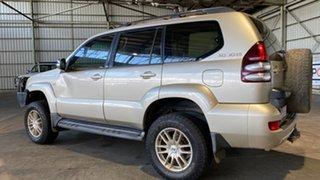 2006 Toyota Landcruiser Prado GRJ120R GX Limited Gold 5 Speed Automatic Wagon