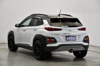 2017 Hyundai Kona OS MY18 Elite 2WD Chalk White & Phantom Black Roof 6 Speed Sports Automatic Wagon