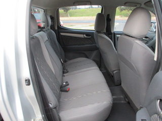 2014 Holden Colorado RG MY14 LX 4x4 Silver 6 Speed Automatic Dual Cab